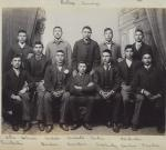 Twelve male Sioux students [version 2], c.1890