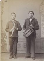 Two unidentified male students #24, c.1887