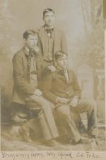 Benjamin Green, William Little Hawk, and Edward Fritz, c.1895