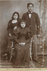 Ada Smith, Eliza Smith, and Edwin Smith, c.1898