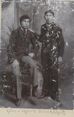 Allen Blackchief and Hiram Blackchief, c.1892
