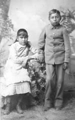 Kisetta Roosevelt and Jack Mather [version 2], c.1881