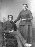 Ernie and Jennie Black, c.1886 [version 3]