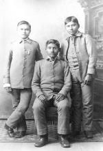 Ernest Hogee, Bishop Eatennah, and Oswald Smith, c.1886