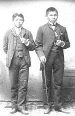 Stephen Smith and Randall Delchey [version 2], c.1885