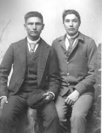 Alexander Yellow Wolf and Frank Shane [version 2], c.1889