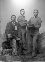 John Morrison, Martin Round Face, and James Waldo, c.1893
