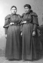 Emma Bull Bonnet and Sallie Face, c.1890