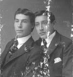 Frank Campeau and Matthew Johnson, c.1895