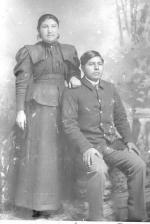 Pasquala Anderson and Andres Moro, c.1895