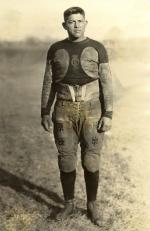 Peter Calac in football uniform, c.1915