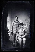 Two Unidentified Male Students, c.1885