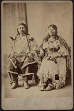 Ouray and his wife Chipeta, 1881
