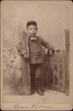 Bruce Patterson wearing his hat [version 1], c.1889