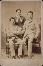 Benjamin Thomas, Mary Perry, and John Menaul, c.1883 [after]
