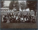 Richard Henry Pratt with school employees and their families [version 3], 1886