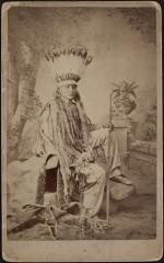 White Buffalo, #1, 1881 [before]