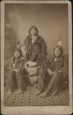 Wounded Yellow Robe, Timber Yellow Robe, and Henry Standing Bear [before]