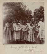 Group of Indian Girls, 1899