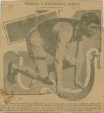 Jim Thorpe in Starting Crouch