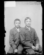 Louis Caswell and Benjamin Caswell [version 1], c.1890