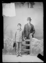 Moses Culbertson and Constant Bread, c.1888