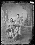 Sheldon Jackson, Harvey Townsend, and John Shields [version 1], c.1881
