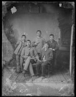 Five unidentified male students #4, c.1885