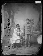 Kisetta Roosevelt and Jack Mather [version 1], c.1881
