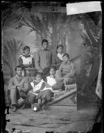 Seven unidentified Pueblo students [version 1], c.1898