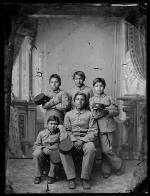 Five unidentified male students #2, c.1885