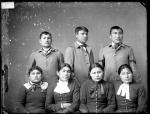 Seven unidentified students #1, c.1887