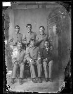 Six unidentified male students #2, c.1885
