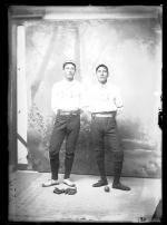 Two unidentified male students #19, c.1887