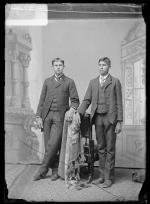James King and Louis King, c.1892
