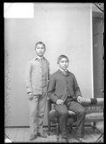 Henry Phillips and Fred Harris, c.1887
