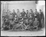 Twenty-three Apache students [version 2], 1891Twenty-three Apache students [version 1], 1891