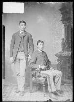 Harvey Warner and William Brown, 1887
