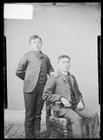 Samuel Keryte and James Seweyea, c.1887