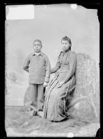 Nancy Wheelock and Elizah Wheelock, c.1892