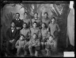 Twelve male Arapaho students #2, c.1881