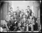 Twelve male Piegan students [version 1], c.1891