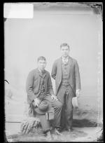 Benjamin Doxtator and Hugh James, c.1890