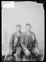 George Conner and Charles Wright, c.1892