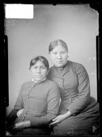 Rose White Thunder and Hope Blue Teeth, c.1886