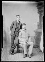 Two unidentified male students #9, c.1885