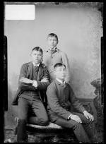 Benjamin Lawry, Howard Logan, and Levi St. Cyr, c.1888