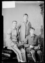 William Brown, Phillip White, and Jacob White Eyes, 1887