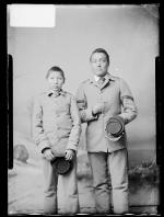 Charles Fisher and George Thomas, c.1884