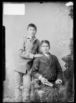 James H. Miller and Francis Ortiz [version 1], c.1885